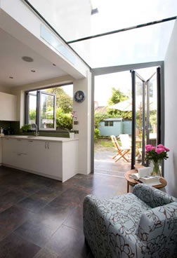 Single Storey House Extension Builders In London Kitchen