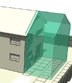 Two storey house extensions