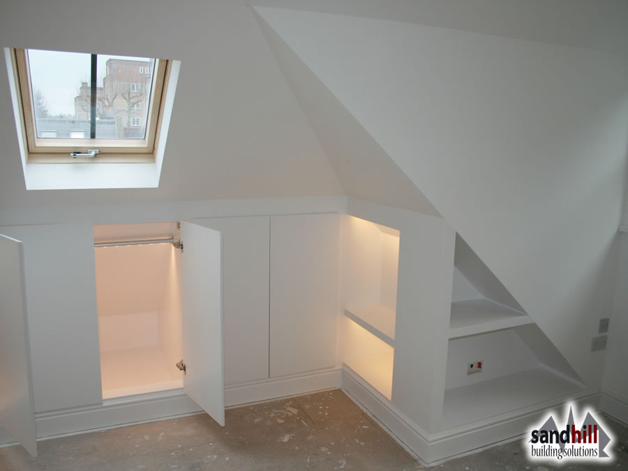 Loft Conversion Bedroom With Ensuite Putney London SW15