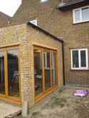 Rear house extension in Eltham, SE9