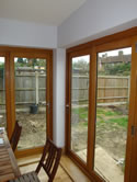 House extension - bifolding doors