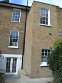 Two storey house extension in London