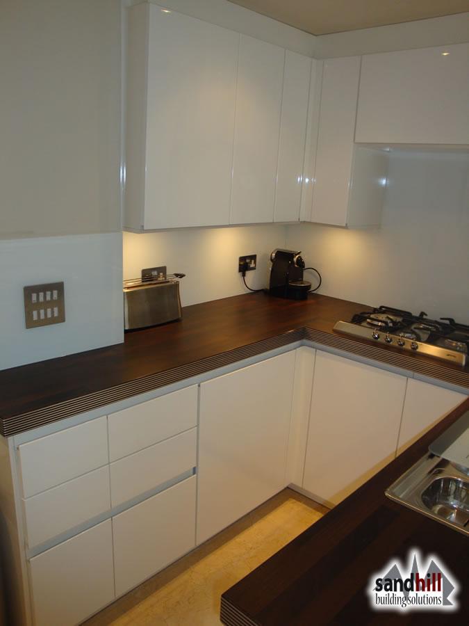 Kitchen and bathroom renovation  Simpson Road  Wandsworth  London SW11