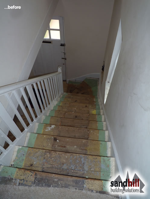 Staircase Renovation In Eltham South East London Se9