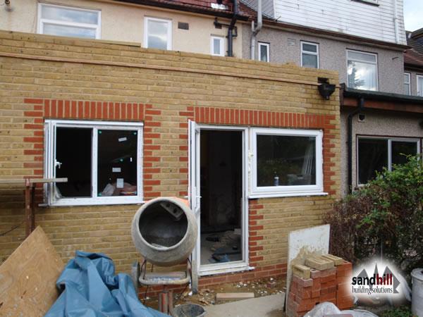 ... House / Kitchen Extension In Salisbury Avenue, London